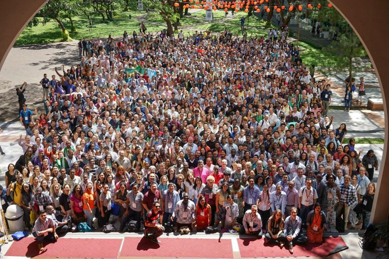 Group photo with all of the YLG participants.